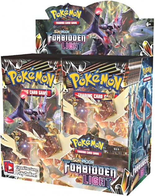 Pokemon Trading Card Game Sun & Moon Forbidden Light Booster Box [36 Packs]