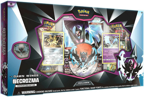 Pokemon Trading Card Game Dawn Wings Necrozma Premium Collection [5 Booster Packs, Promo Card, Oversize Card, Figure & Pin!]
