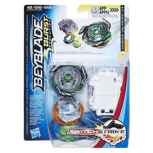 Beyblade Burst Switchstrike Genesis Valtryek V3 Starter Pack [Green]