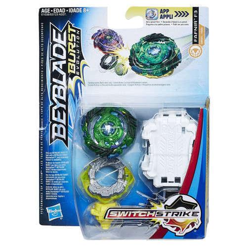 Beyblade Burst Switchstrike Fafnir F3 Starter Pack [Version 2]