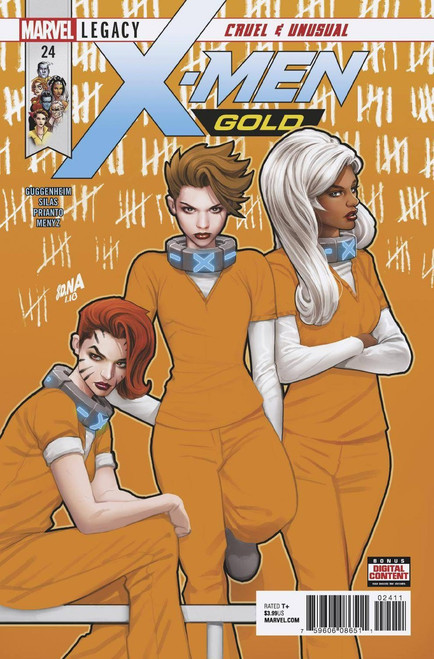 Marvel Comics X-Men Gold #24 Comic Book
