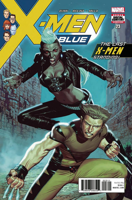 Marvel Comics X-Men Blue #23 Comic Book