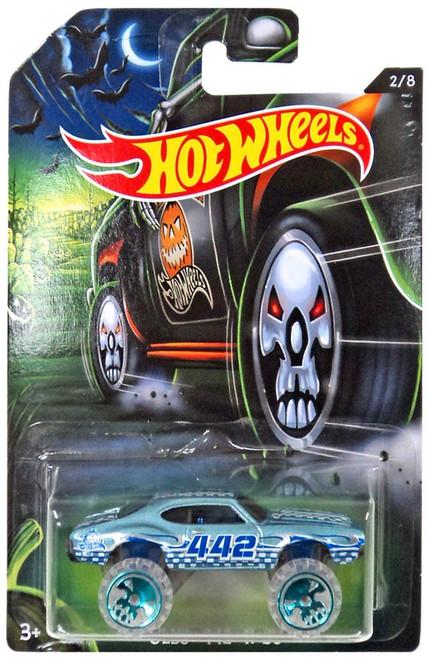 Hot Wheels Happy Halloween! Olds 442 W-30 Die-Cast Car #2/8