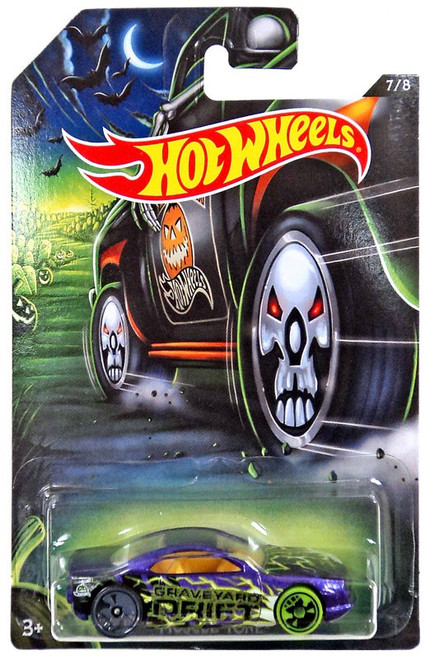 Hot Wheels Happy Halloween! Muscle Tone Diecast Car #7/8