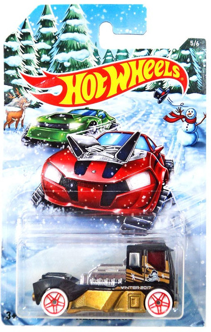 Hot Wheels 2017 Holiday Hot Rods Rennen Rig Die-Cast Car #5/6