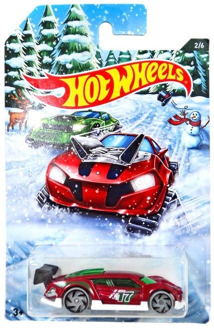 Hot Wheels 2017 Holiday Hot Rods Super Blitzen Diecast Car #2/6