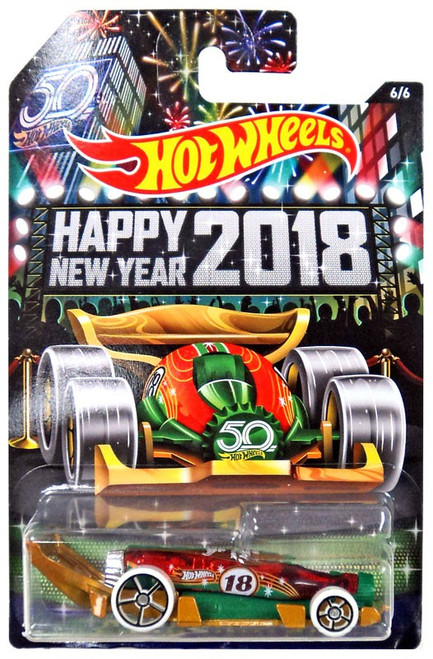 Hot Wheels 2017 Holiday Hot Rods Carbonator Die-Cast Car #6/6