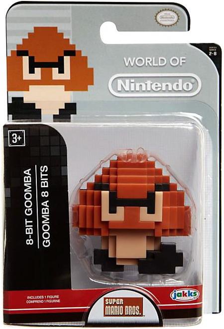 World of Nintendo Super Mario 8-Bit Goomba 2.5-Inch Mini Figure