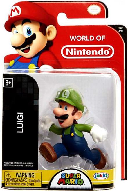 World of Nintendo Super Mario Luigi 2.5-Inch Mini Figure [Running]