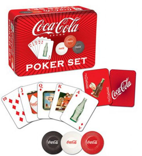 Coca-Cola Collector's Poker Set