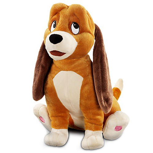 Disney The Fox and the Hound Copper Exclusive 13-Inch Deluxe Plush