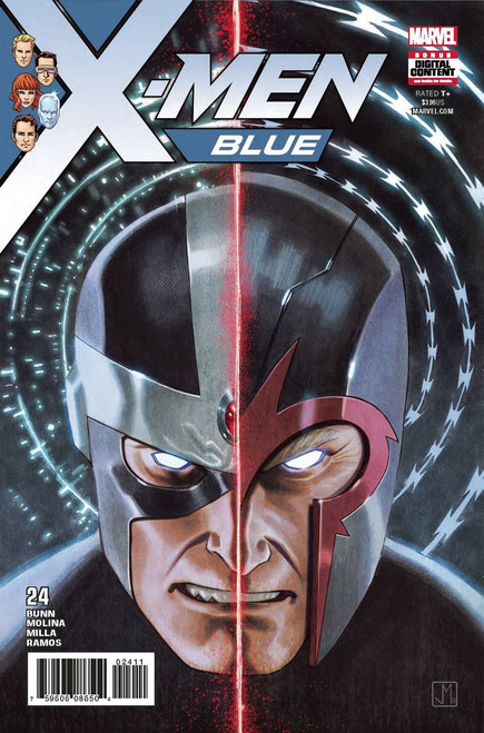 Marvel Comics X-Men Blue #24 Comic Book