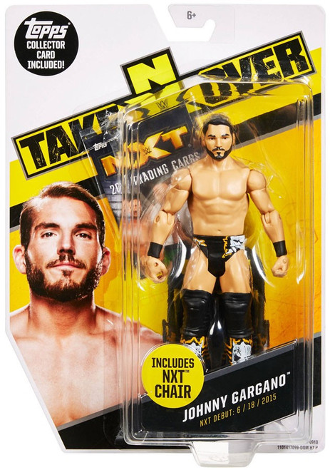 WWE Wrestling NXT Takeover Johnny Gargano Exclusive Action Figure