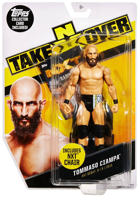 WWE Wrestling NXT Takeover Tommaso Ciampa Exclusive Action Figure
