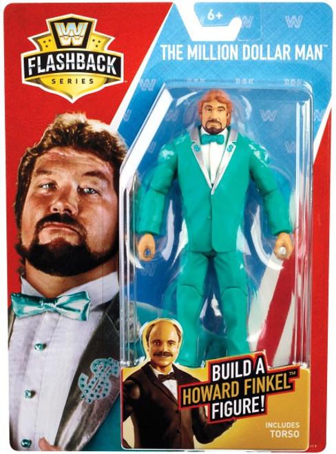 WWE Wrestling Flashback Series 1 The Million Dollar Man Action Figure