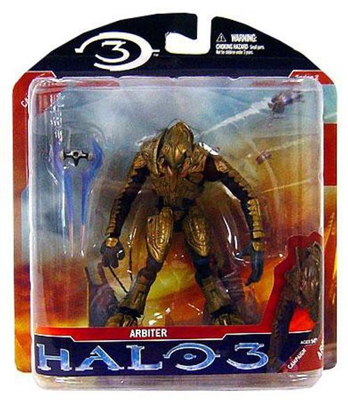 McFarlane Toys Halo 3 Series 2 Arbiter Action Figure [Gold, Damaged Package]