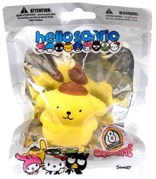 Hello Sanrio Squishme Pompompurin Squeeze Toy