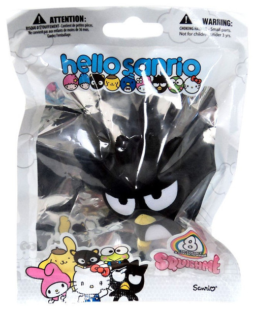 Hello Sanrio Squishme Badtz-Maru Squeeze Toy