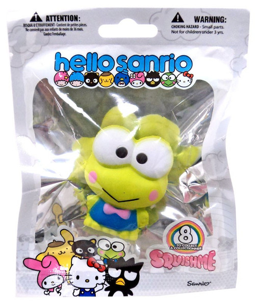 Hello Sanrio Squishme Keroppi Squeeze Toy