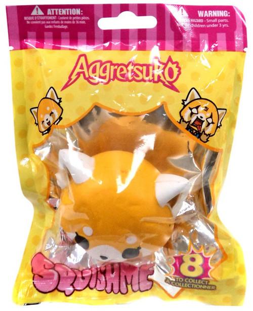 Sanrio Squishme Aggretsuko Squeeze Toy [Blank Expression]
