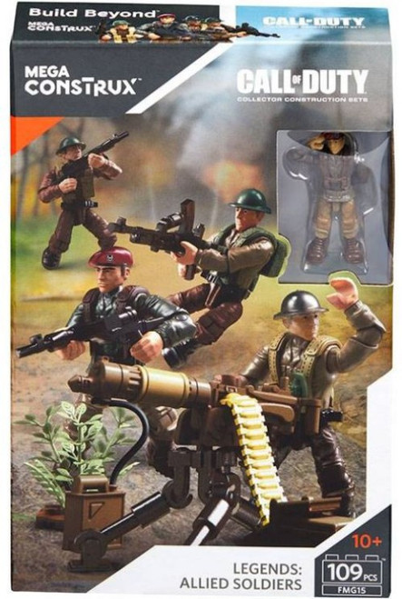 Call of Duty Legends: Allied Soldiers Set
