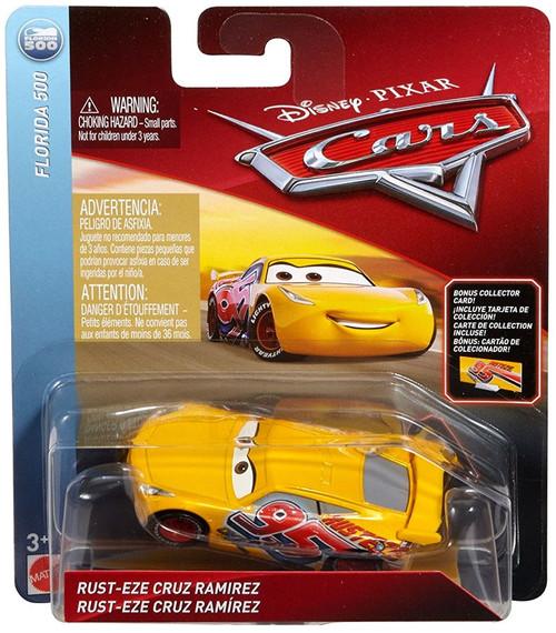 Disney / Pixar Cars Cars 3 Florida 500 Rust-Eze Cruz Ramirez Diecast Car
