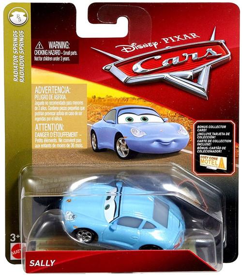 Disney / Pixar Cars Cars 3 Radiator Springs Sally Diecast Car [Bonus Collector Card]