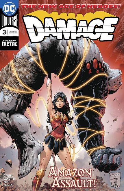 DC Damage #3 Comic Book