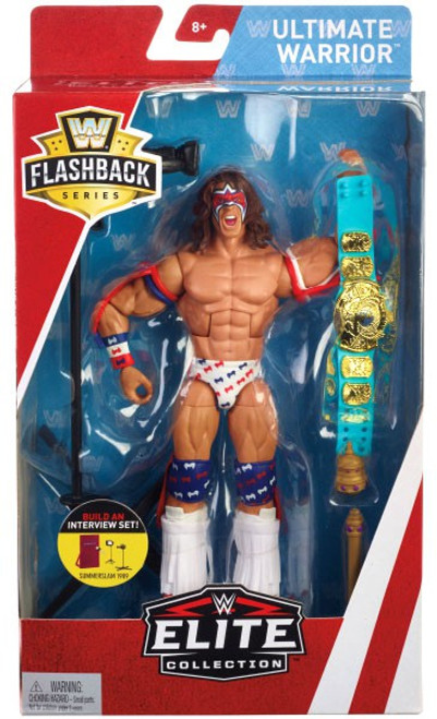 WWE Wrestling Elite Collection Flashback Ultimate Warrior Exclusive Action Figure
