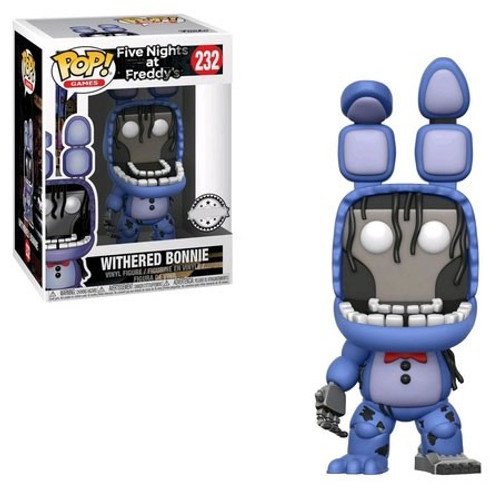 Funko Five Nights at Freddy's POP! Games Withered Bonnie Exclusive Vinyl Figure