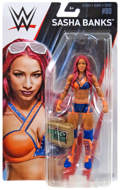 WWE Wrestling Series 80 Sasha Banks Action Figure [Money in the Bank Briefcase]