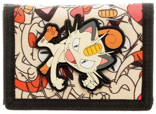 Pokemon Meowth Velcro Wallet