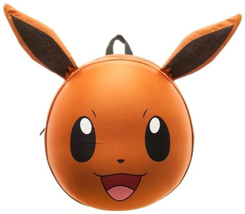 Pokemon Eevee 3D Molded 17-Inch Backpack