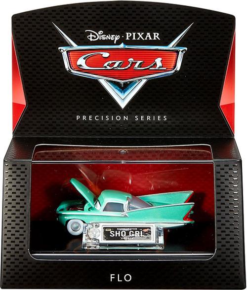 Disney / Pixar Cars Precision Series Flo Diecast Car [Damaged Package]