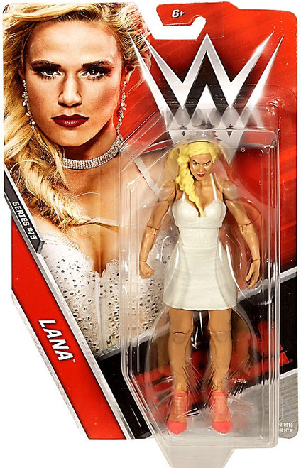 WWE Wrestling Series 75 Lana Action Figure [Damaged Package]