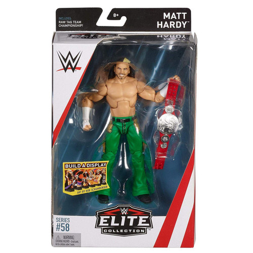 WWE Wrestling Elite Collection Series 58 Matt Hardy Action Figure [Raw Tag Team Championship]