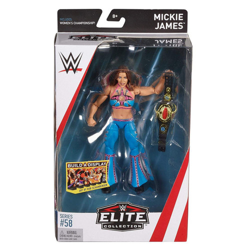 WWE Wrestling Elite Collection Series 58 Mickie James Action Figure [Women's Championship]