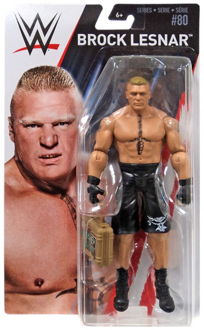 WWE Wrestling Series 80 Brock Lesnar Action Figure [Money in the Bank Briefcase]