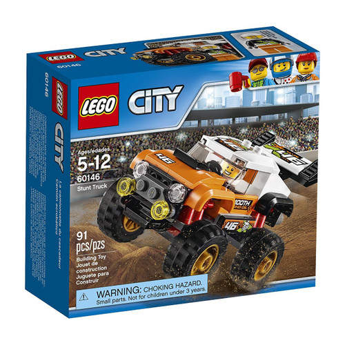 LEGO City Stunt Truck Set #60146 [Damaged Package]