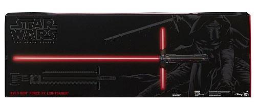 Star Wars The Force Awakens Black Series Kylo Ren Force FX Electronic Lightsaber [Damaged Package]