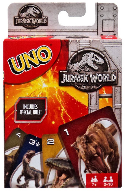 UNO Jurassic World Card Game