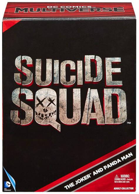 DC Suicide Squad Multiverse The Joker & Panda Man Exclusive Action Figure 2-Pack