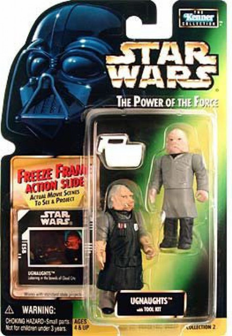 Star Wars The Empire Strikes Back Power of the Force POTF2 Kenner Collection Ugnaughts Action Figure 2-Pack