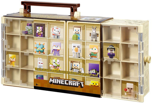 Desert Minecraft Mini Figure Collector Case
