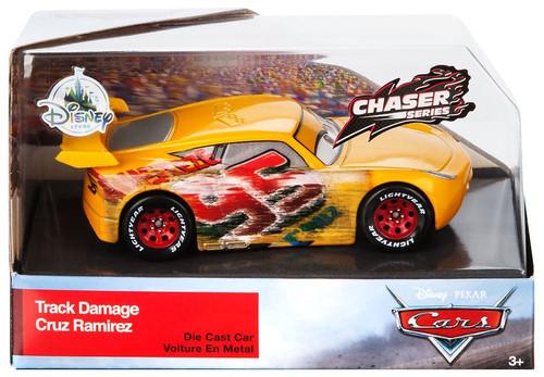 Disney / Pixar Cars Cars 3 Track Damage Cruz Ramirez Exclusive Diecast Car