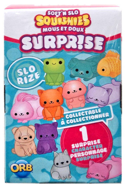 Soft'N Slow Squishies Surpr!se Series 1 Animal Pals Mystery Pack