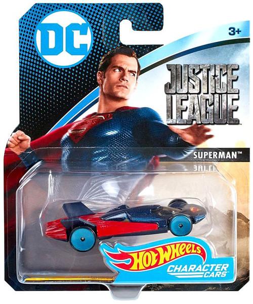 Hot Wheels DC Character Cars Superman Die-Cast Car
