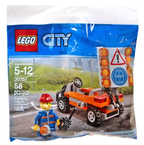 LEGO City Road Worker Set #30357