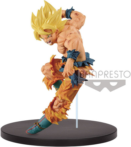 Dragon Ball Match Makers Figure Collection Super Saiyan Son Goku 6.3-Inch Collectible PVC Figure