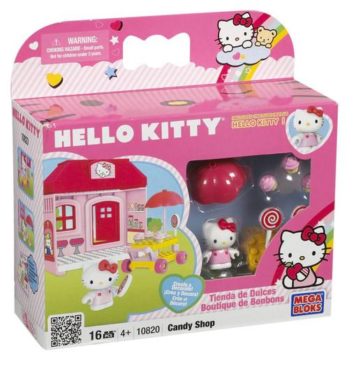 Mega Bloks Hello Kitty Candy Shop Set #10820 [Damaged Package]
